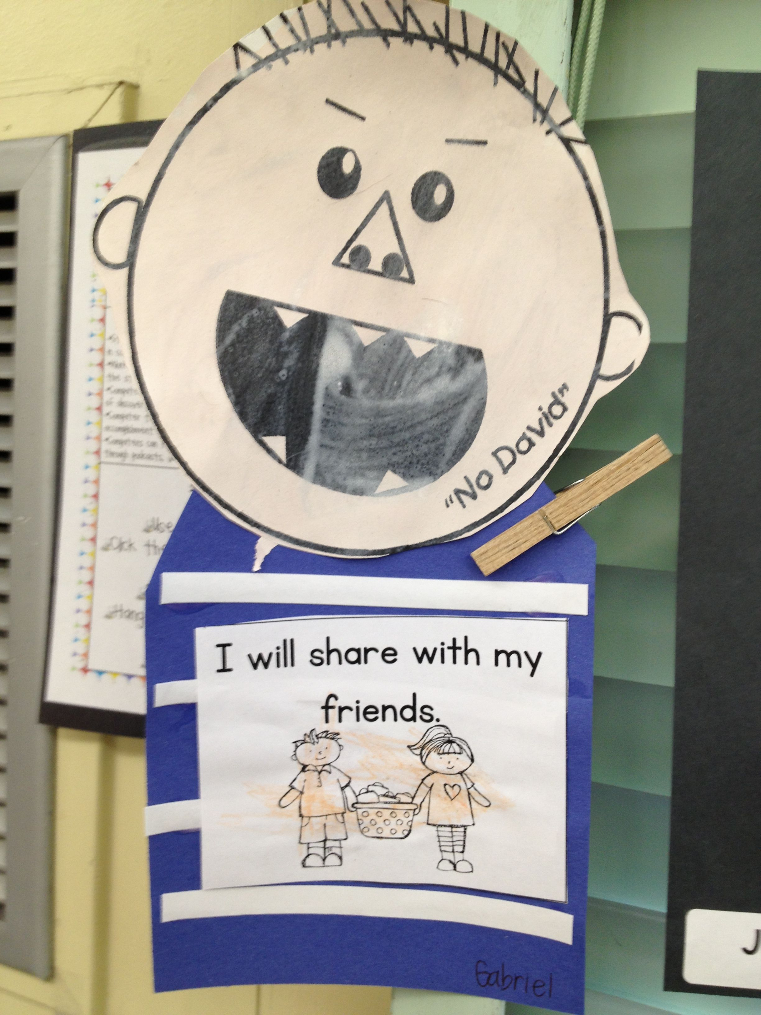 Pre K Week One But With Sentence Strips