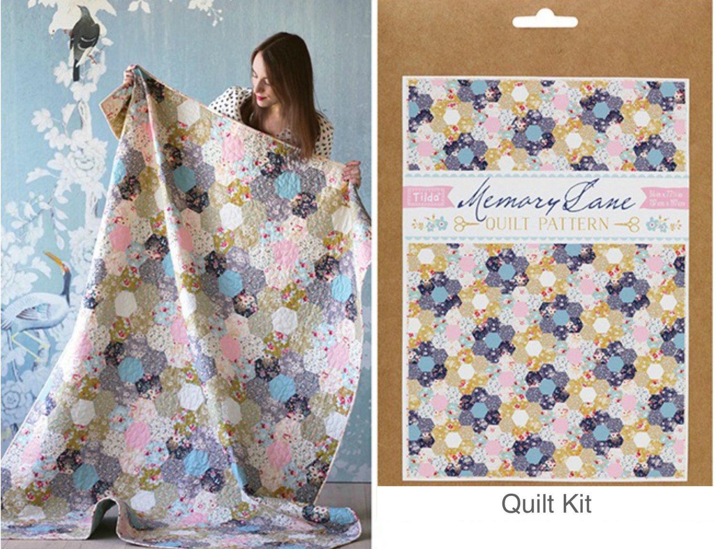 Tilda Memory Lane Quilt Kit, Memor Lane Quilt, Tilda fabric ... : quilting supplies australia - Adamdwight.com