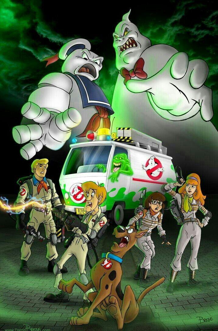 Ghostbusters v scooby doo scooby dooby doo cartoni animati