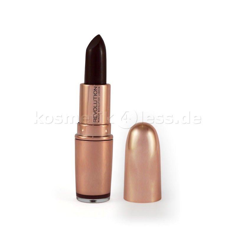 Makeup Revolution - Lippenstift - Rose Gold - Private Members Club - Kosmetik & Falsche Wimpern