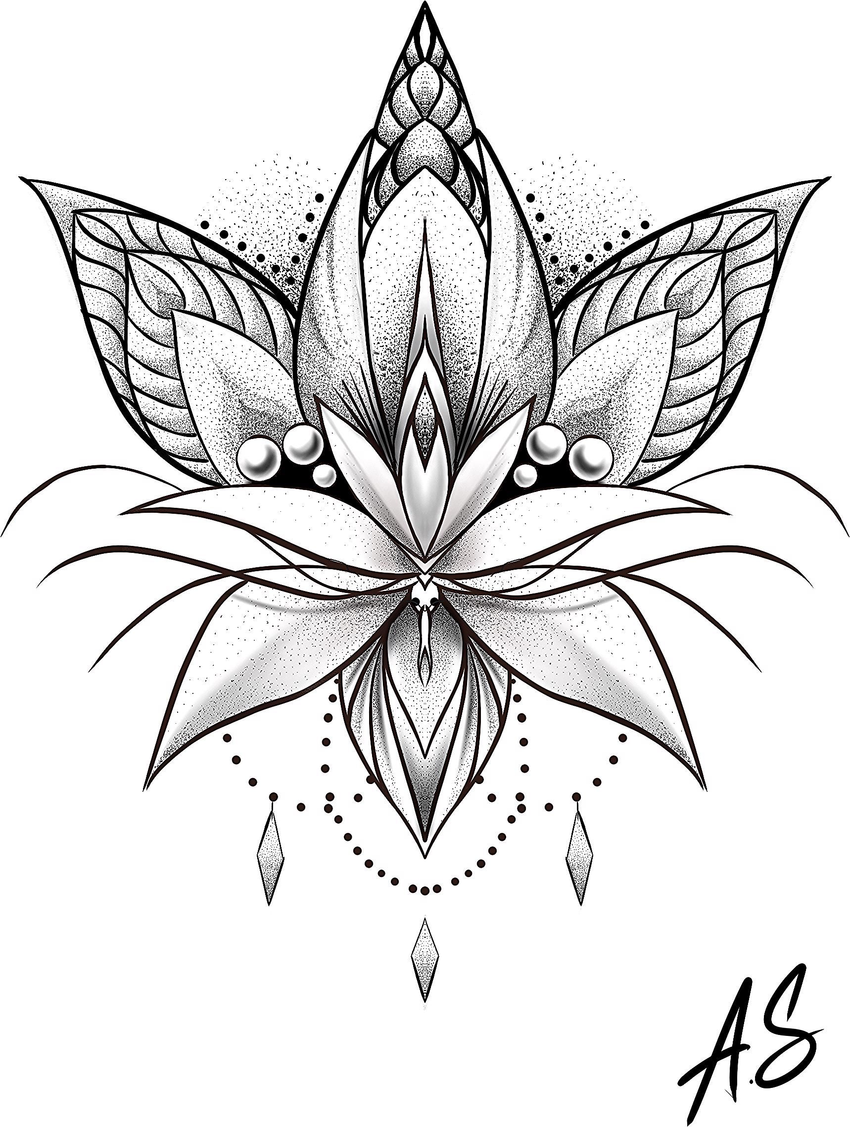 Pin By Rebecca Griffin On Lotos Lotus Artwork Flower Tattoo Lotus
