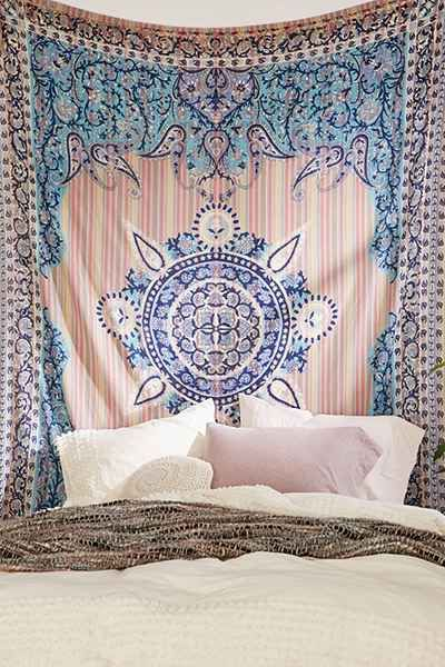 Magical Thinking Paisley Medallion Tapestry Dorm