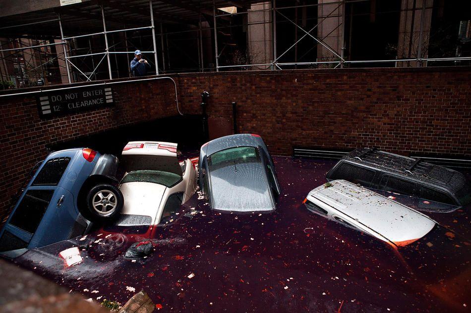 Hurricane Sandy Hurricane sandy, Hurricane, Car