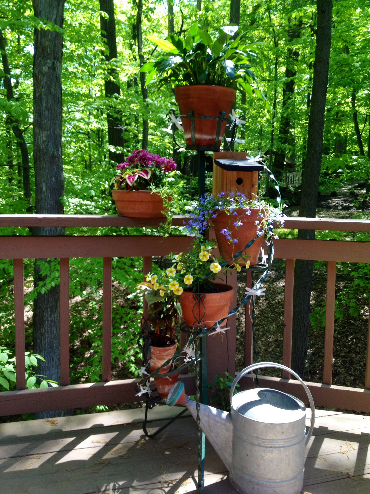 Vintage Spiral Plant Stand Plant Stand Diy Plant Stand Porch