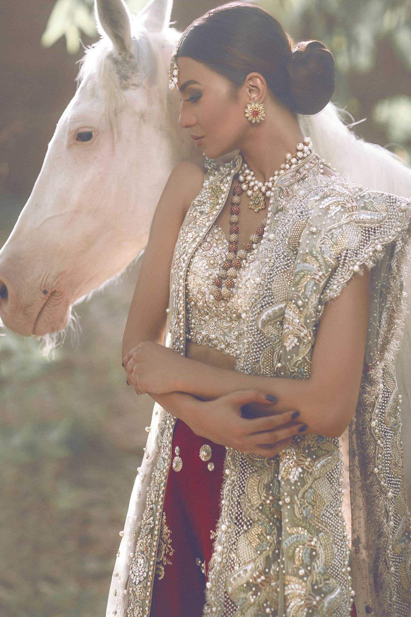 Jasmine Court by Elan, Pakistani designer, wedding dress