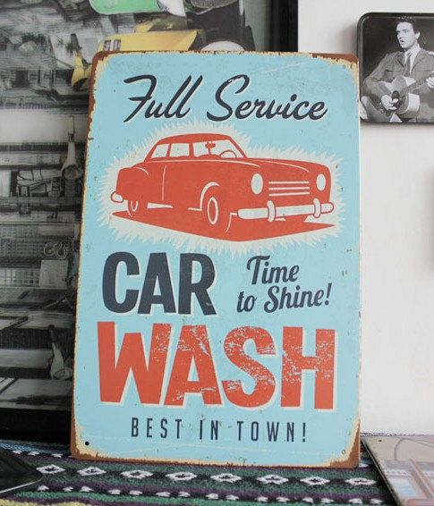 Rustic Full Service Car Wash Advertisement Best In By Frecosteart