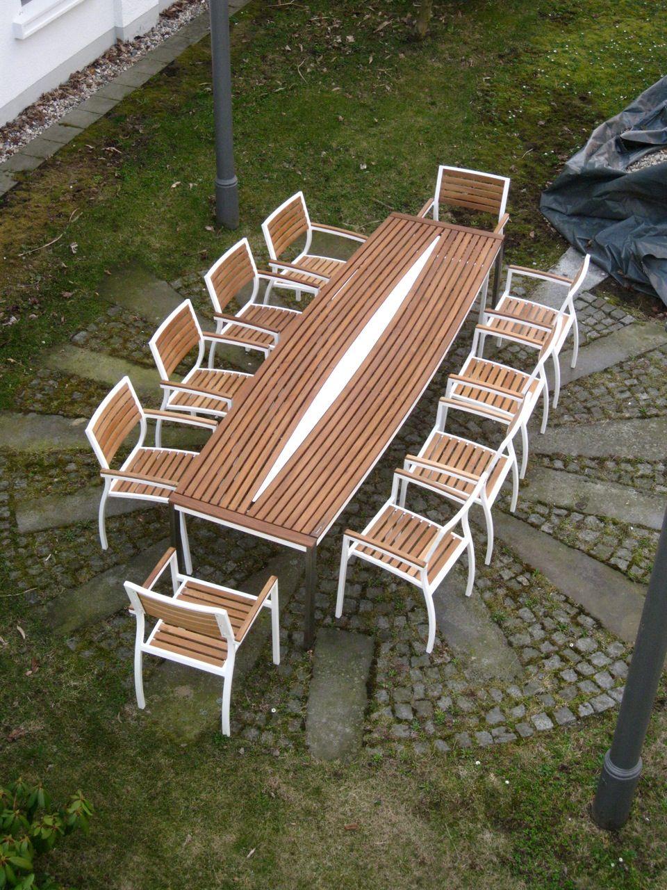 Gartenmöbel xxl Design Gartentisch groß by Sebastian Bohry ...