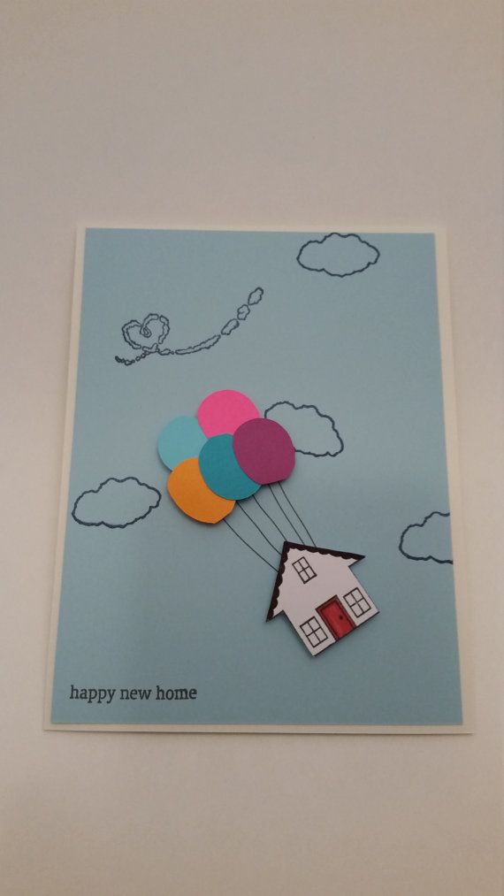 Cute Housrwarming Card Referencing The Movie Up Check Out This
