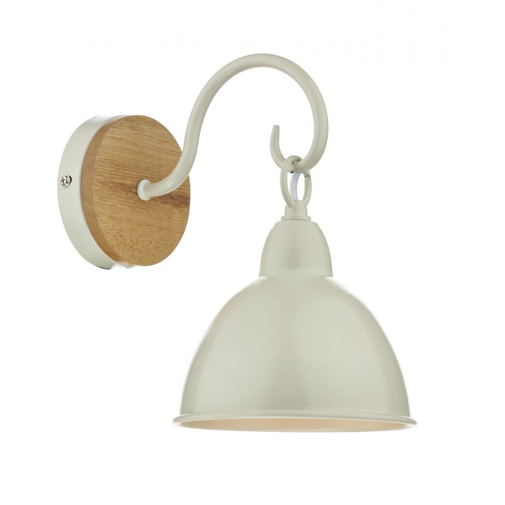 Dar bly0743 1 light wall light blyton wooden with cream metal dar lighting blyton single wall liight dar lighting from affordable lighting uk aloadofball Choice Image