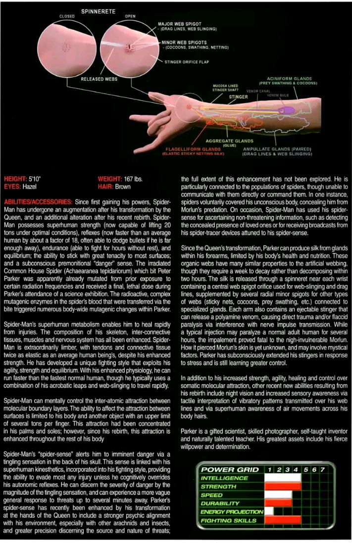 Schematic For Spidey Organic Web Shooters Amazing Spiderman Movie Spiderman Web Spectacular Spider Man