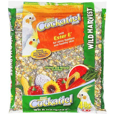 Wild Harvest Cockatiel Diet 4lb