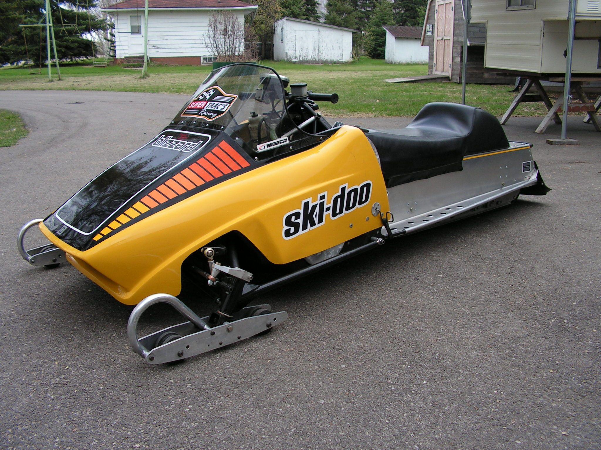 1978 Ski Doo Ss 500cc Snopro Clone Asphalt Racer Sleds