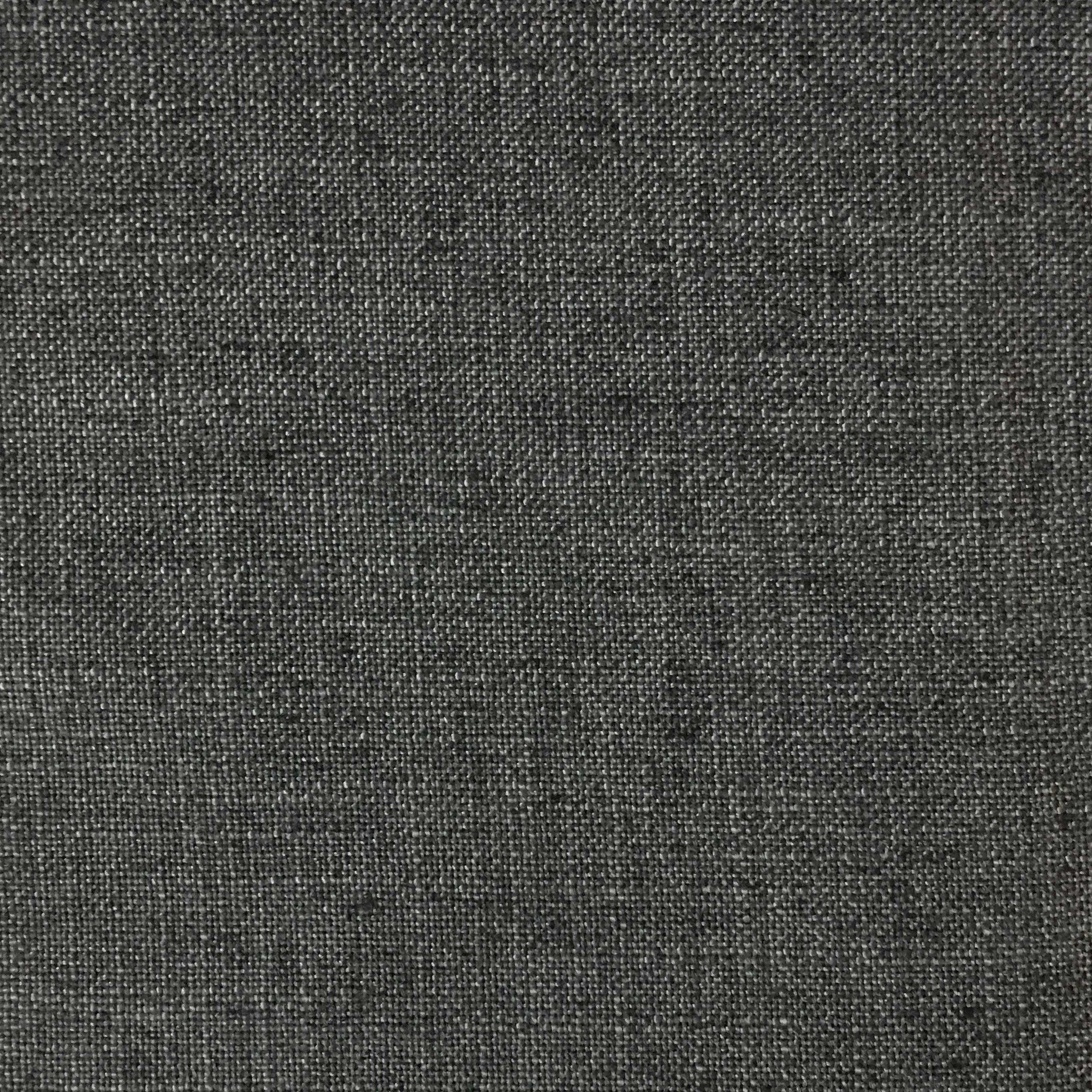 Blake Linen Polyester Blend Burlap Upholstery Fabric By The Yard Available In 30 Colors Charcoal W Backing Top 23