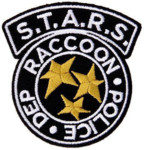 Robot Check Resident Evil Custom Velcro Patch Raccoon