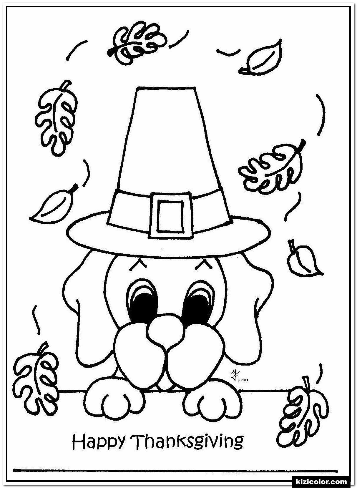 Free Coloring Pages For Thanksgiving on a budget