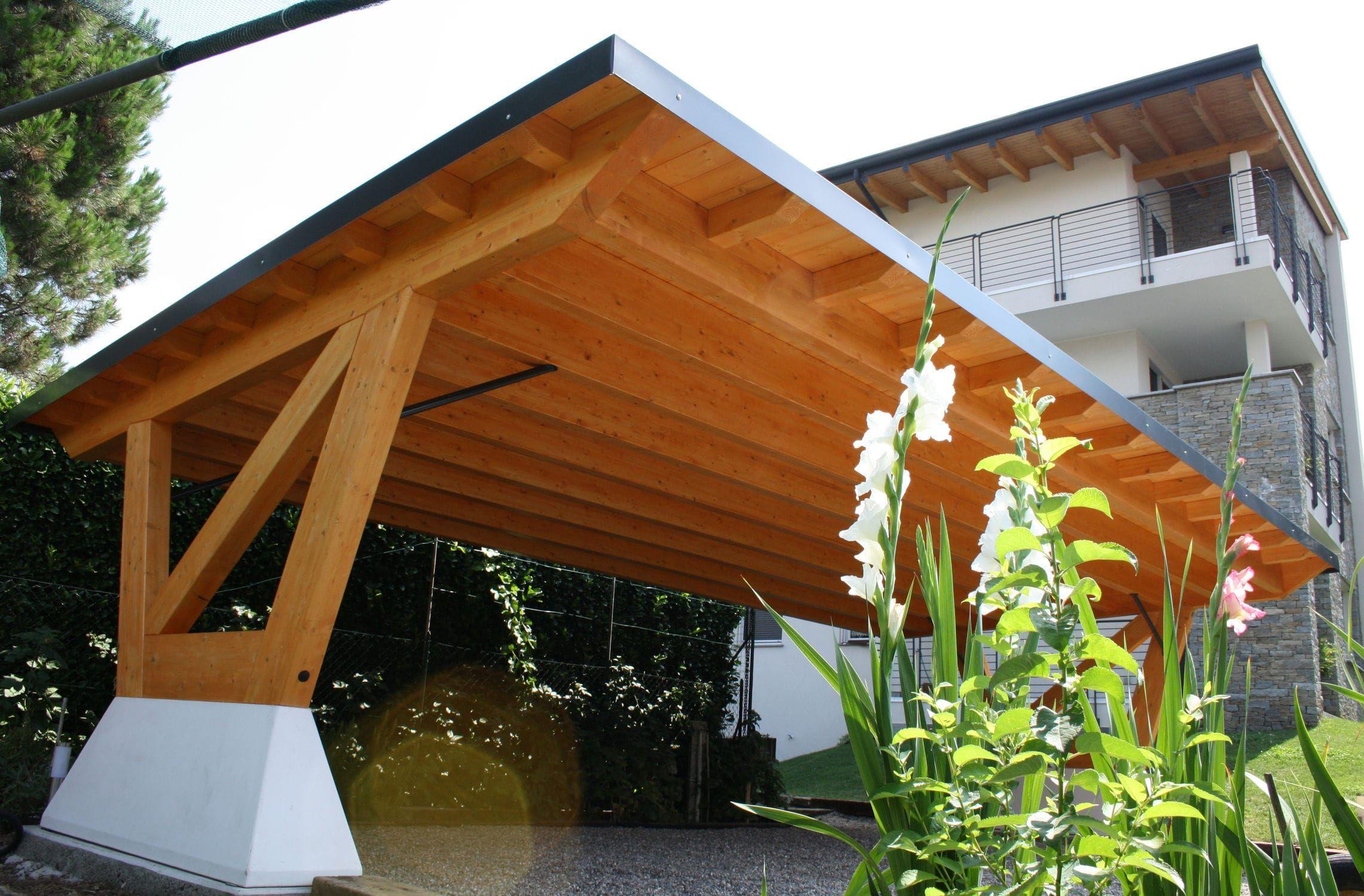 Concrete Carport Wooden New York Proverbio Outdoor Design Wooden Carports Outdoor Design Amazing Architecture