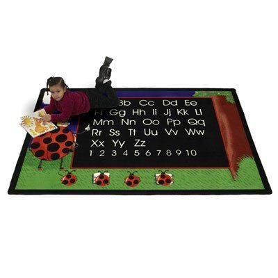 Flagship Carpets Lbug69 6 X 9 Ft Lady Bug Neon Rug By Flagship Carpets 181 91 Flagship Lbug69 Lad Classroom Carpets Learning The Alphabet Teaching Preschool