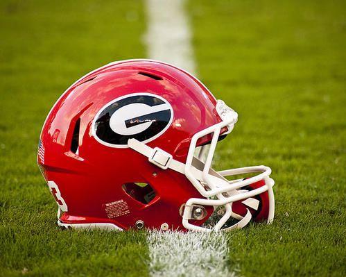 Georgia Bulldogs Football Helmet Poster By Replay Photos Georgia