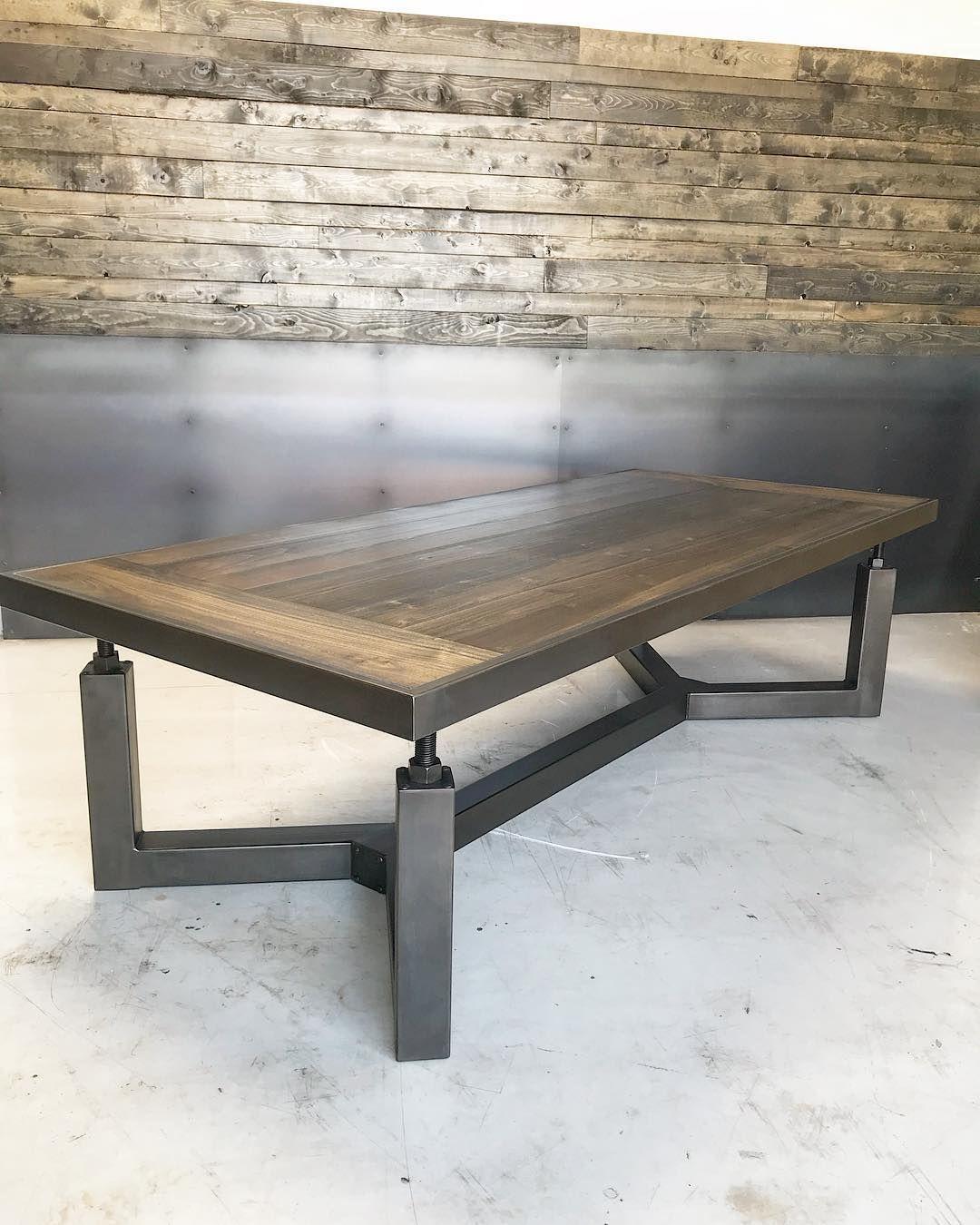 Ironclad Vintage Industrial On Instagram Bonneville Dining Table