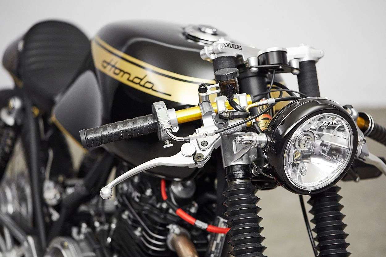 This Honda Gb500 From 271 Design Is Just Perfekt Motor Vehicles Motorcycles Accessories Tt Cafe Racer By