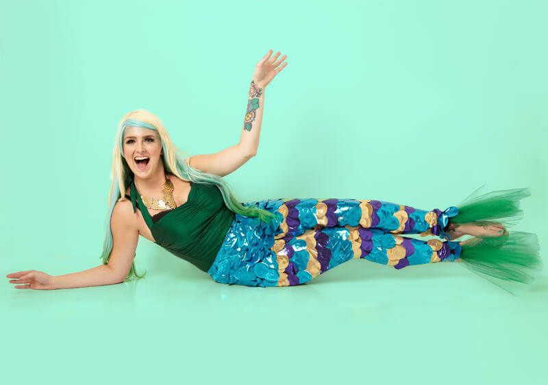 Impress everyone with this mermaid costume tail DIY project.  sc 1 st  Pinterest & Impress everyone with this mermaid costume tail DIY project ...