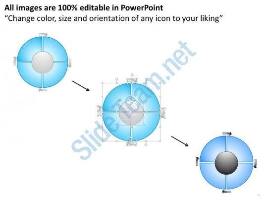 36824294 Style Circular Loop 5 Piece Powerpoint Presentation