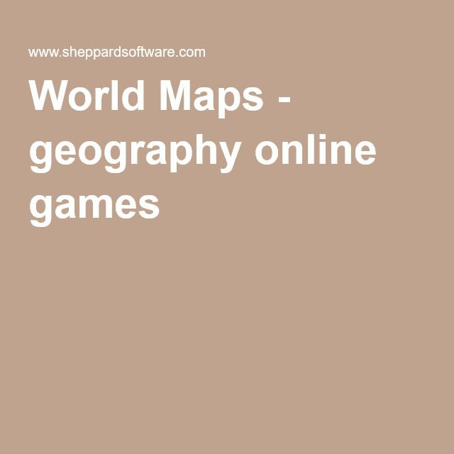 World Maps   Geography Online Games. Sheppard Software Has Provided Many  Free And Fun To