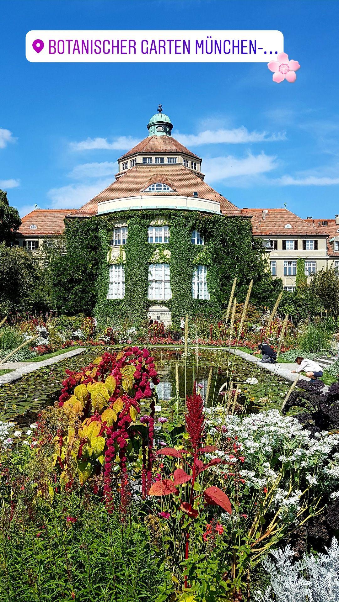 Botanischer Garten München Nymphenburg Meine Heimat München In
