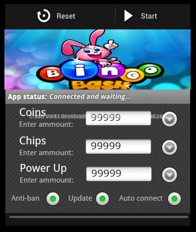 hacks and cheats bingo bash ipad