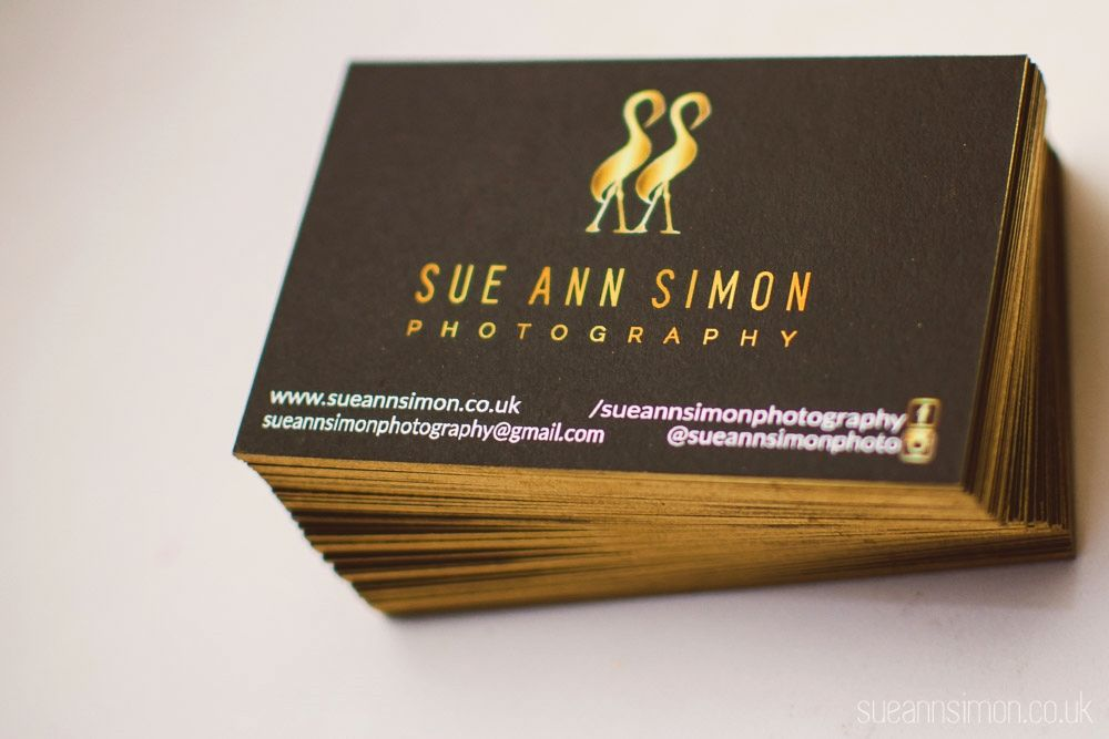Moo Luxe Business Cards Review DIY Gold Foil Edge Photographers