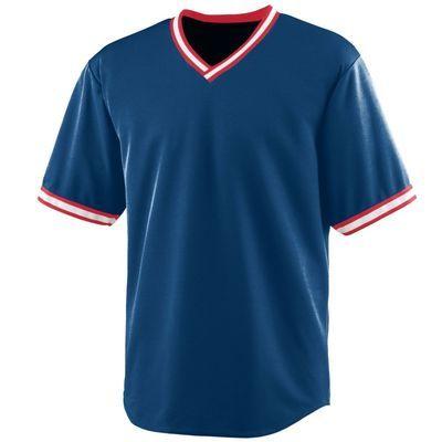 Augusta Sportswear Men S Wicking V Neck Baseball Jersey 472 Description 100 Polyester Wicking Mesh Wic Augusta Sportswear Mens Sportswear Baseball Jerseys