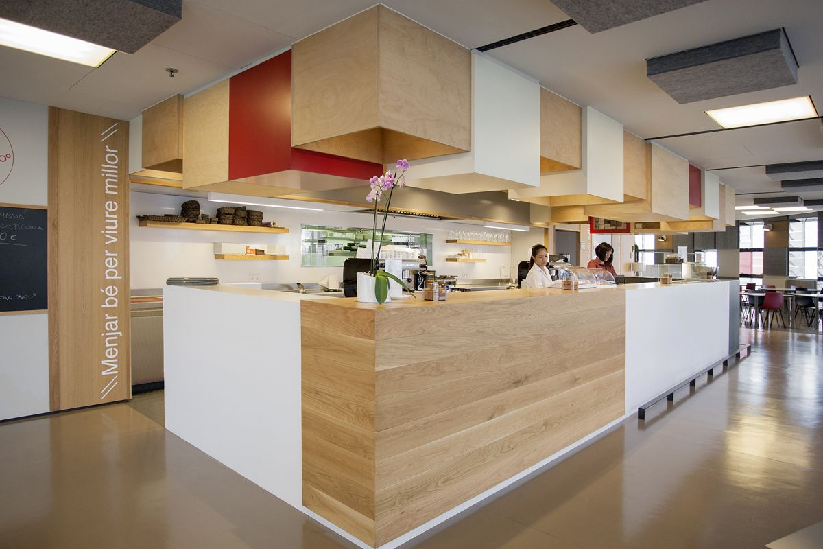 office cafeteria design. Office Tour: Agbar\u0027s Barcelona Corporate Cafeteria | Designs, Pantry Design And