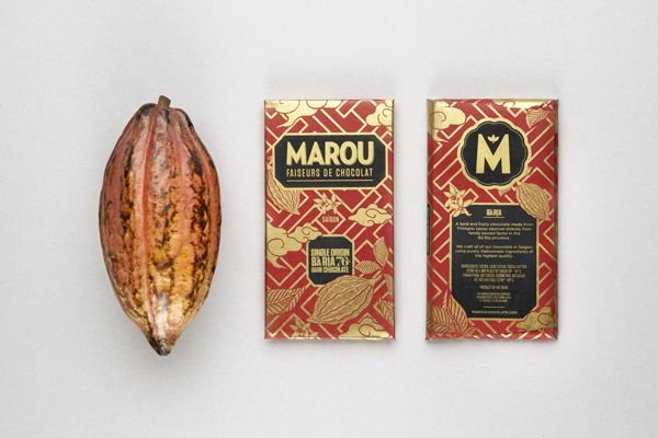 Marou Chocolate Packaging | Rice Creative