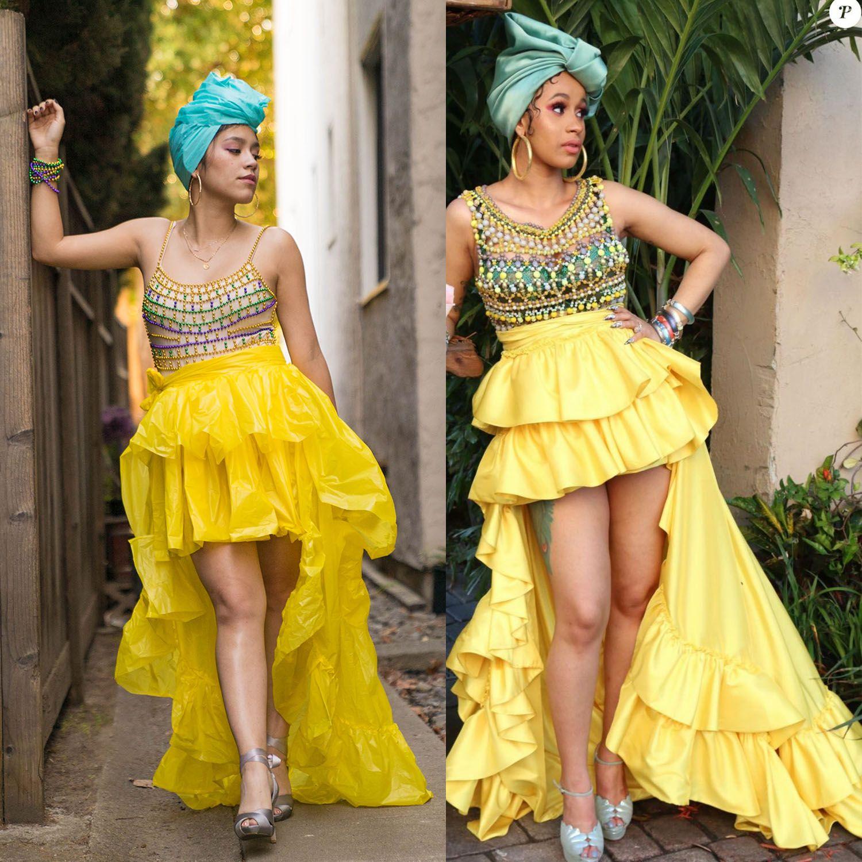 "Cardi B Costume Remade Cardi B's "" I Like It"" outfit"