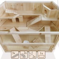 expedit ikea hamster house - Google Search