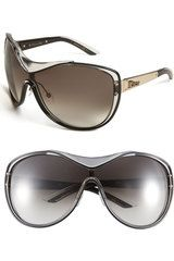 9a9f1bbd9f Dior Oversized Sunglasses in Black (crystal black palladium) - Lyst ...