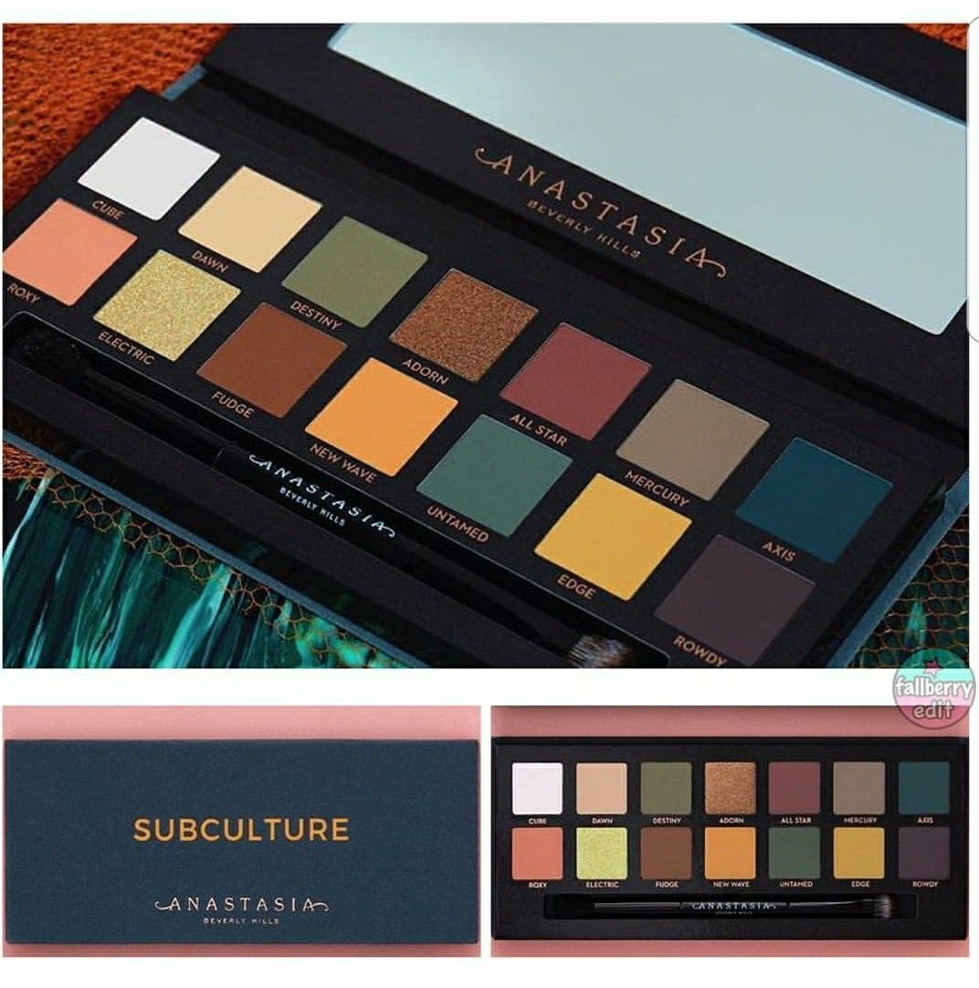 Anastasia Beverly Hills Subculture Palette July 2017