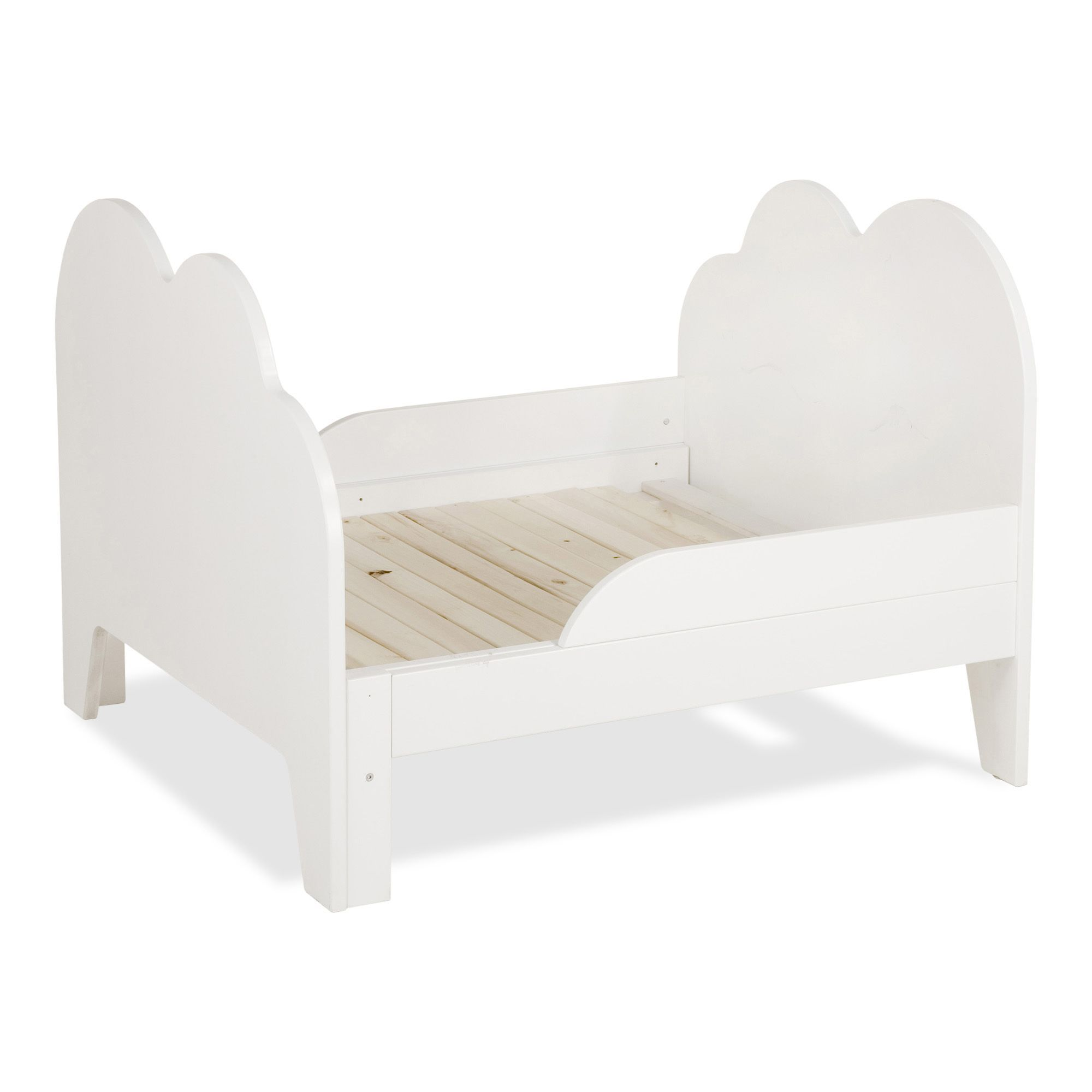 lit volutif blanc 3 positions avec d coupes forme nuage pour enfant nuage lits enfants. Black Bedroom Furniture Sets. Home Design Ideas