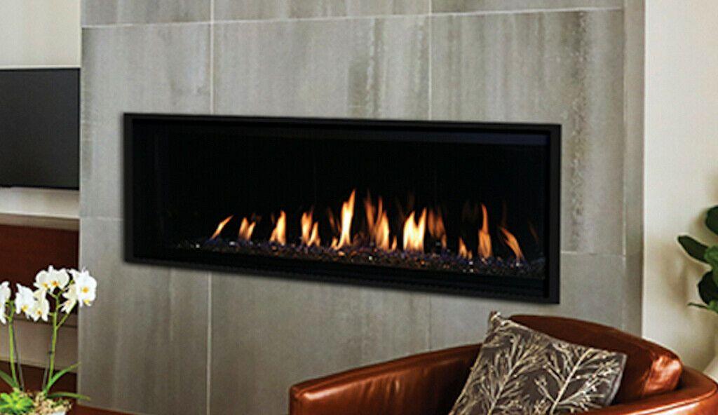 Astria 60 Allume Dlx 60 Direct Vent Linear Gas Fireplace Multi