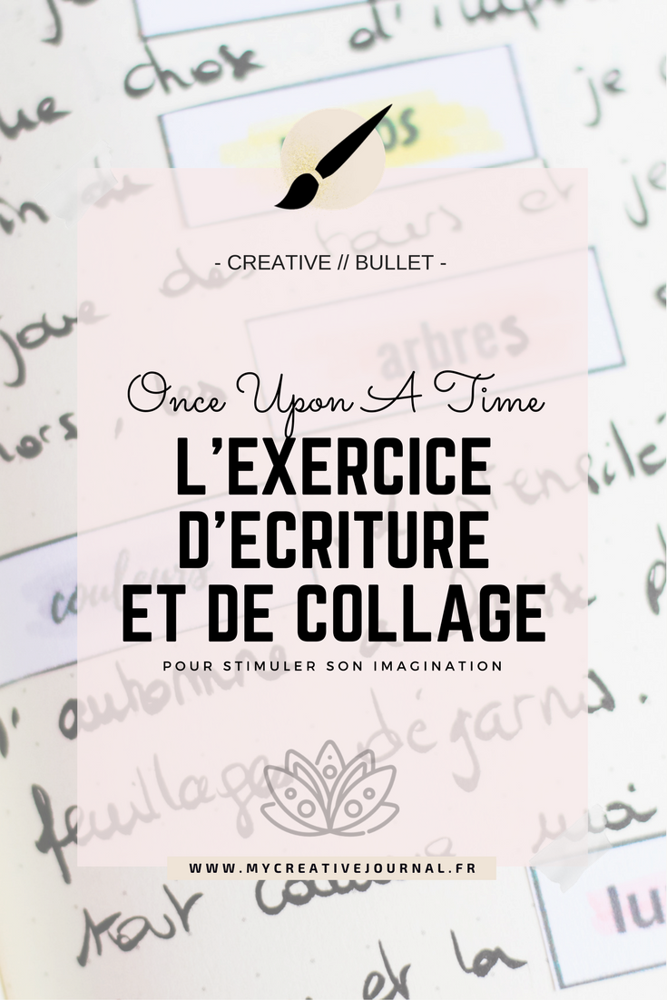 Jeune Once Upon A Time … Exercice d'écriture | → Pages creative journal UL-87