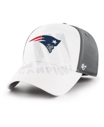 cd77a8e2b879cf '47 Brand New England Patriots Super Bowl Liii Champ Dyer Contender Stretch  Fitted Cap - Blue Adjustable. '