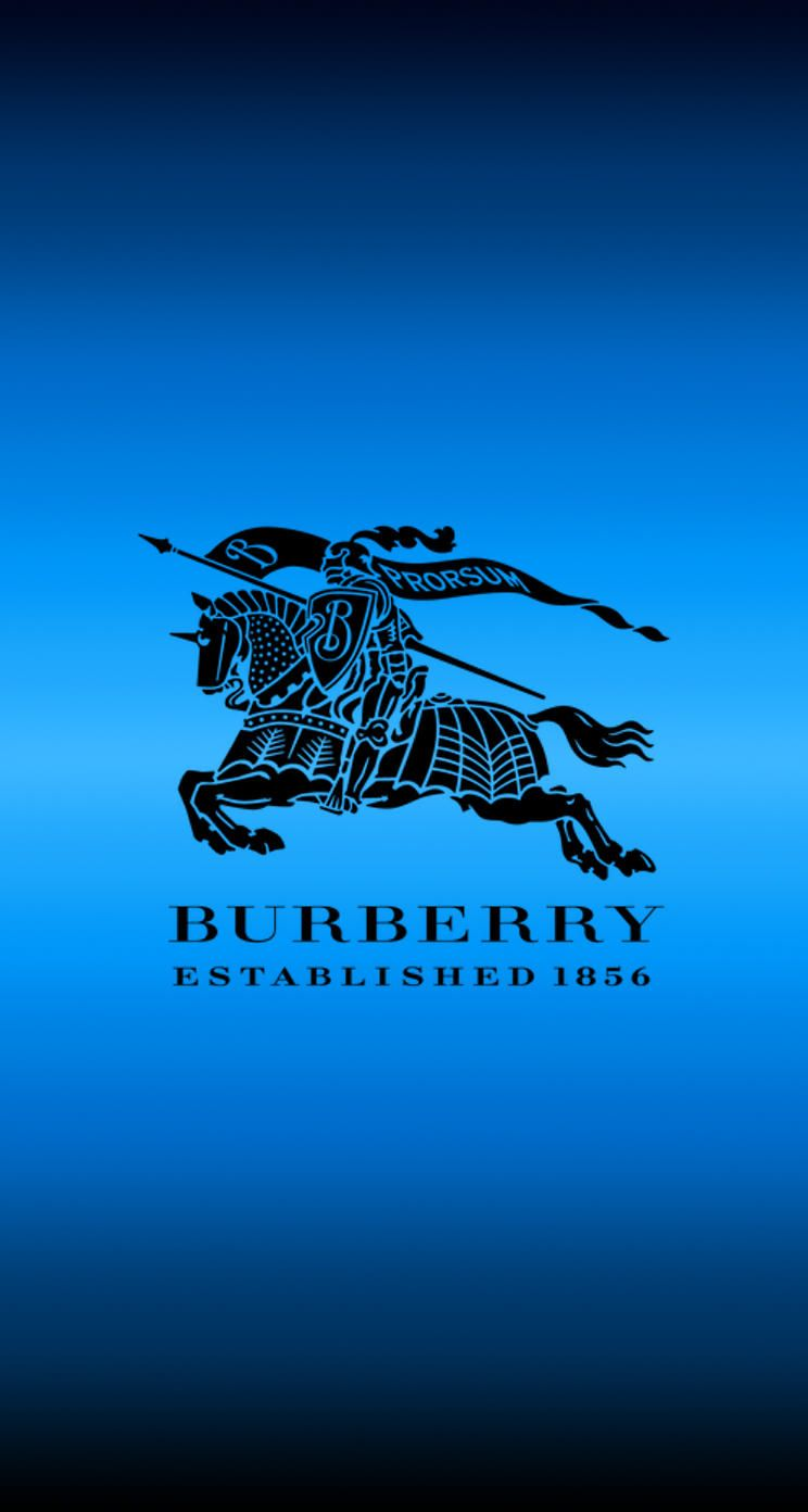 14 Burberry Blue iPhone Wallpaper Collection