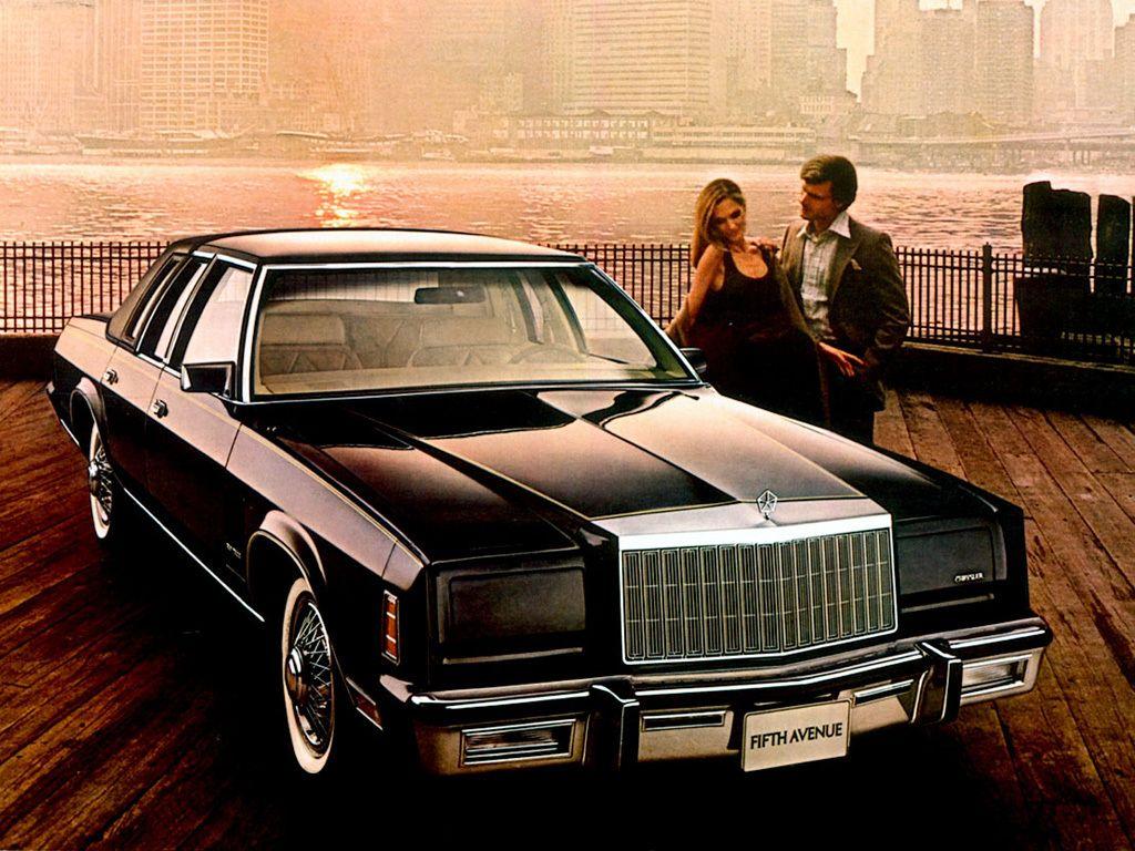Chrysler New Yorker Fifth Avenue '1980