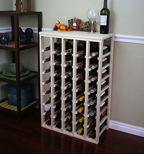 Vinogrotto 40 Bottle Table Wine Rack Pine By Vinogrotto Exclusive 12 Inch Deep Design Conceals Entire Wine Bottles Handsanded To Perfect Wine Racks Wine