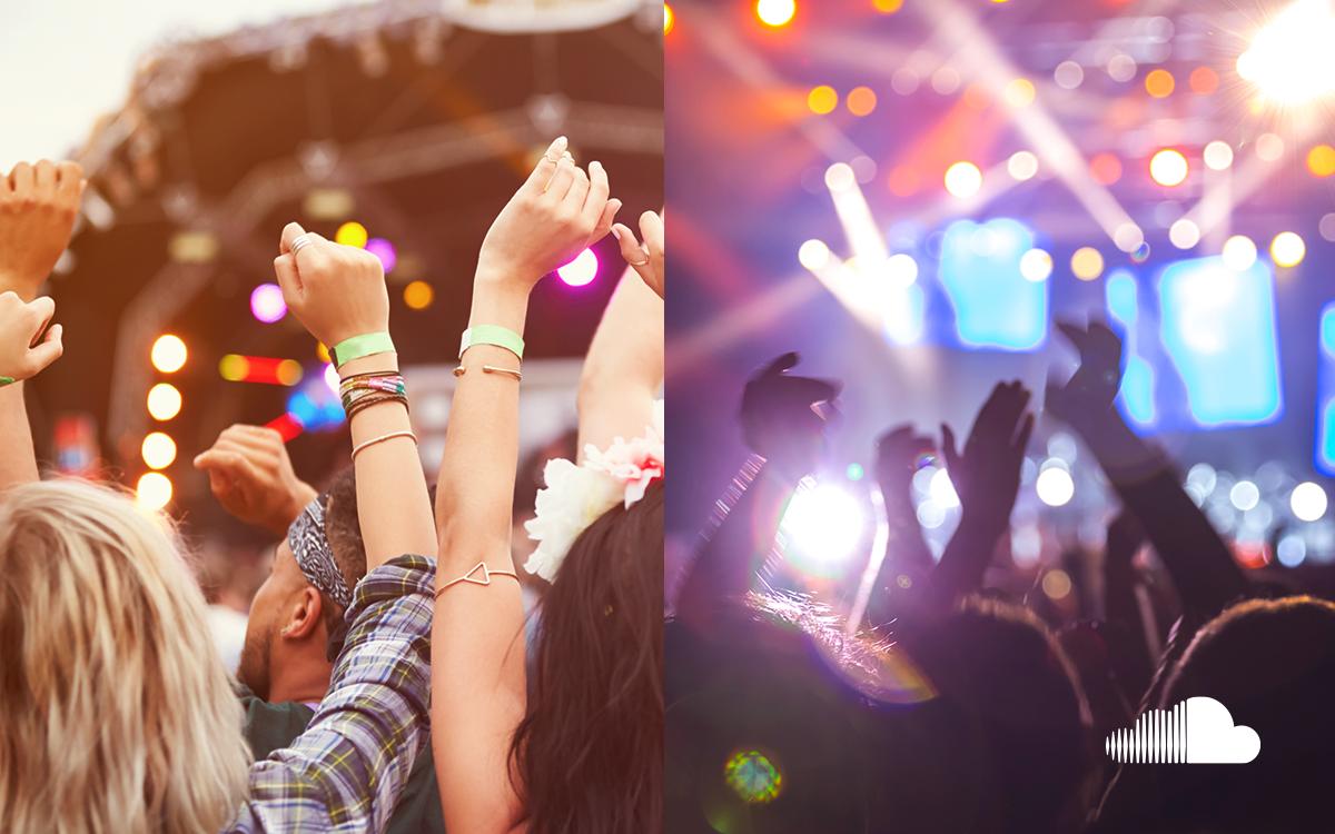 Festivals vs. concerts. Which one gets your vote? #SoundCloudSurvey