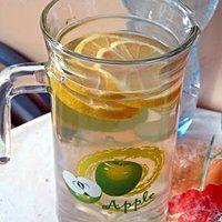 Napój miętowy z cytryną