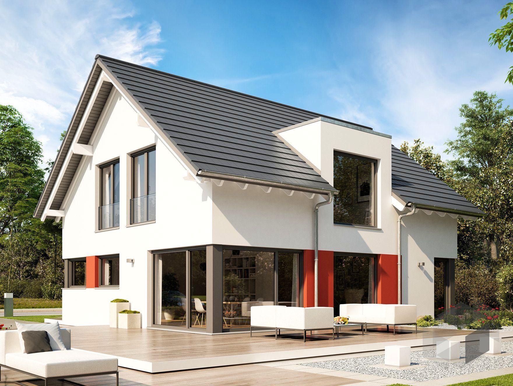 sunshine 170 von living haus by bien zenker satteldach. Black Bedroom Furniture Sets. Home Design Ideas
