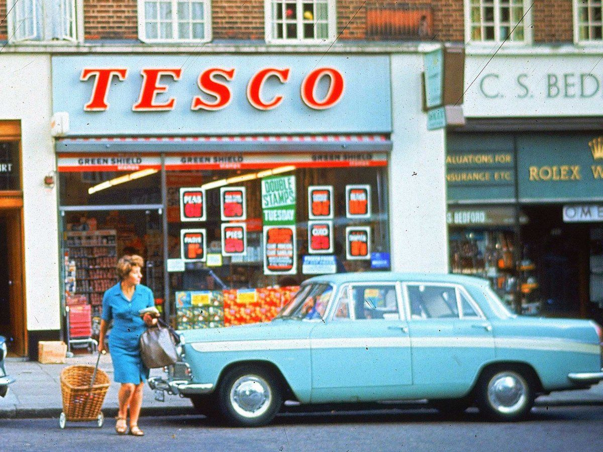 The Incredible Rise And Fall Of Tesco Childhood Memories Photography Supermarket Design Tesco