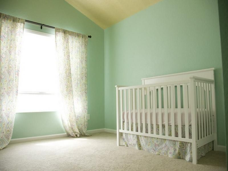 A Seafoam From Benjamin Moore In Particular Preserves Sense Of History