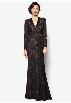 3aeaa4c848ccd Katrina Dress from Jovian Mandagie for Zalora in black_1   Kebaya ...
